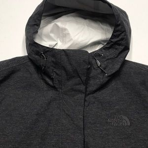 🆕 NORTH FACE Women's Gray Waterproof Jacket